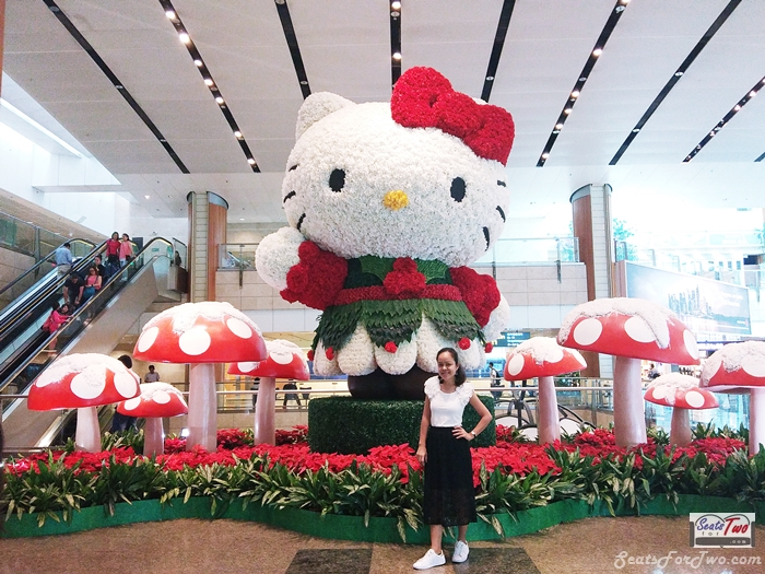 Hello Kitty at Changi Airport