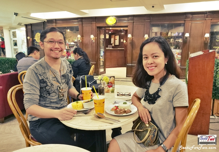 Pre-Valentines and Anniversary Date at Figaro
