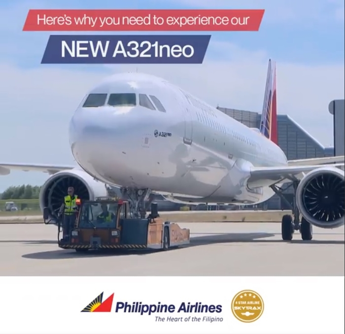 Philippine Airline's A321Neo