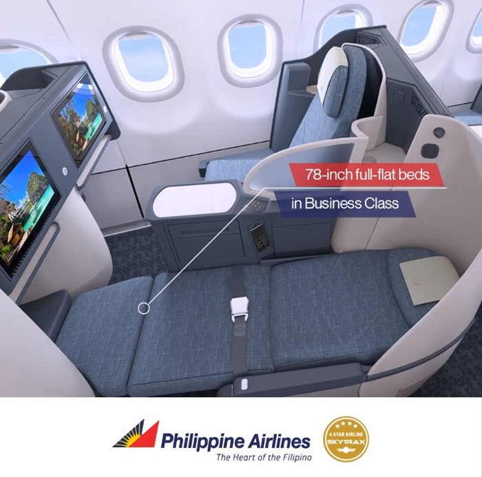 PAL Business Class Seat