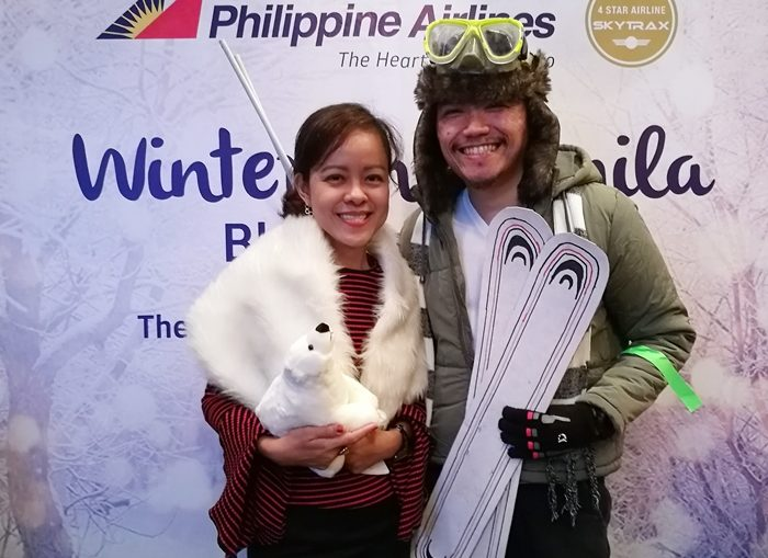 Philippine Airline's Winter in Manila