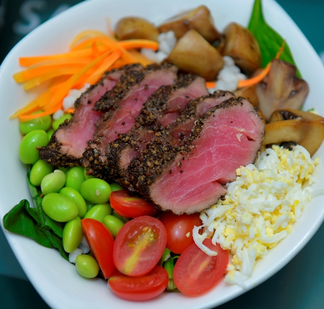 SaladStop-Ahi Ono Grain Bowl-Seats-For-Two