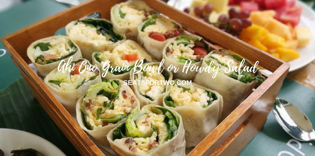 SaladStop Howdy Salad Wrap