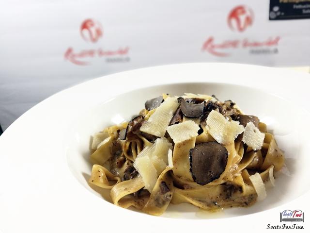 Parmigiano Ristorante's Fettucine Ai Funghi