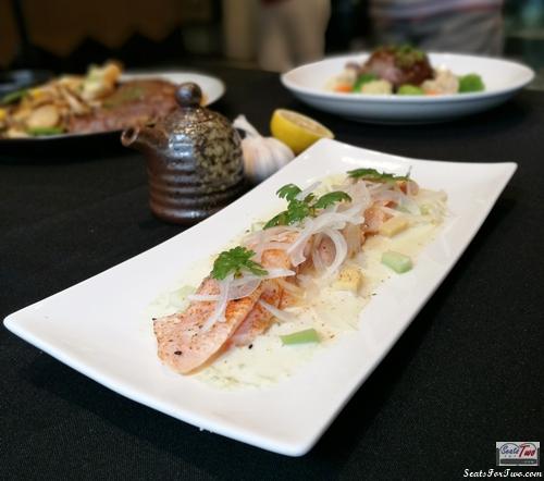 Nanka's Salmon Sashimi