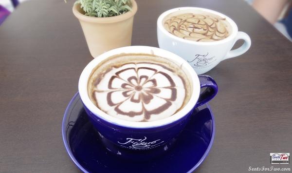 Figaro coffee latte art