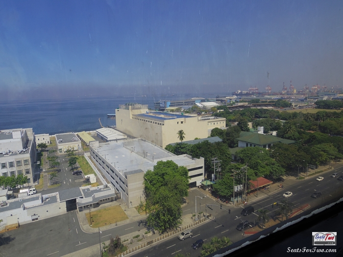 Manila Bay view from our hotel room