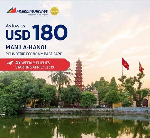 Manila to Hanoi