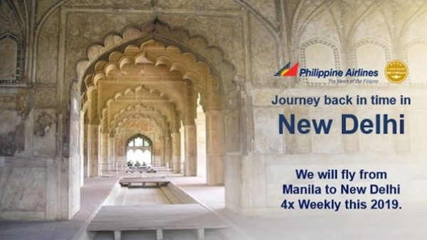 Manila to New Delhi