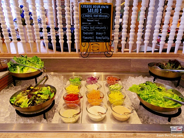 Salad Station Kusina Sea