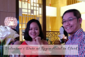 Jonel and Marjorie at Royce Hotel