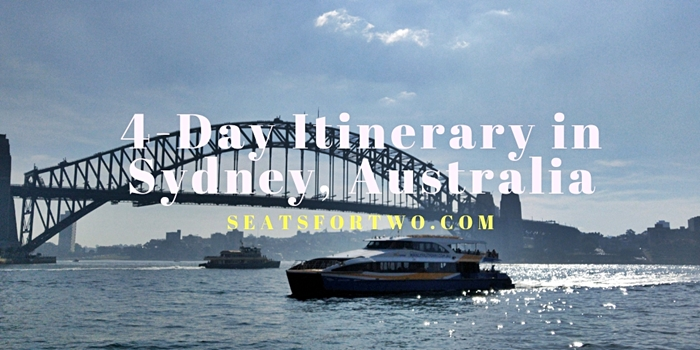 4-Day Sydney Australia Itinerary