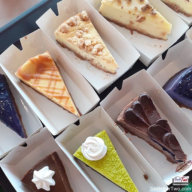 Cassalu's Assorted Cheesecake