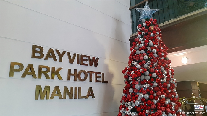 The Lobby of Bayview Park Hotel Manila
