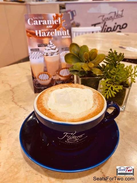 Figaro white Chocolate Mocha