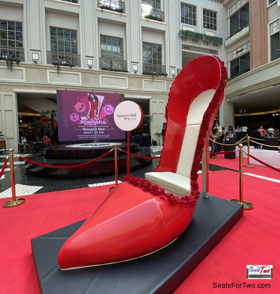 Shoes with Stories, a Women's Month Exhibit at Resorts World Manila