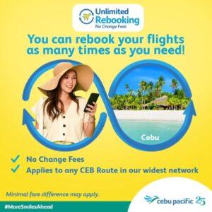 Cebu Pacific's Unlimited Rebooking